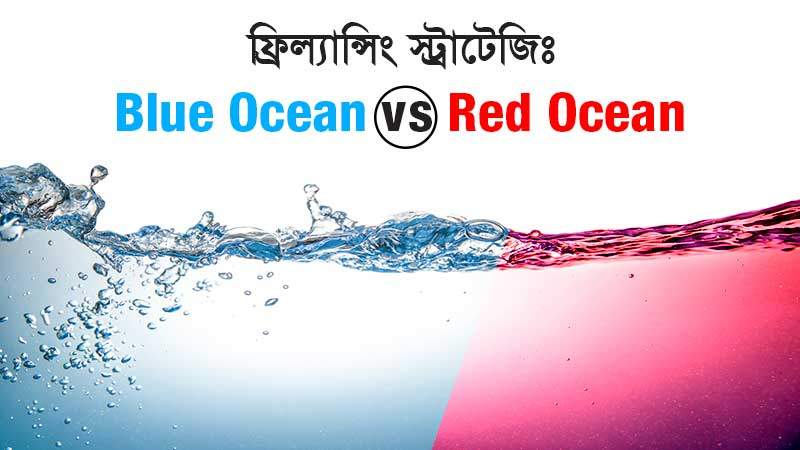 blue vs red ocean stratagy